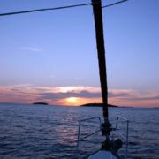 Abends im Mittelmeer
